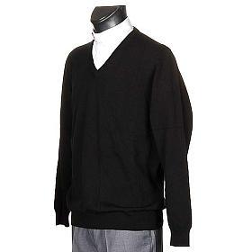 Pullover, ouverture en V,cachemire s2