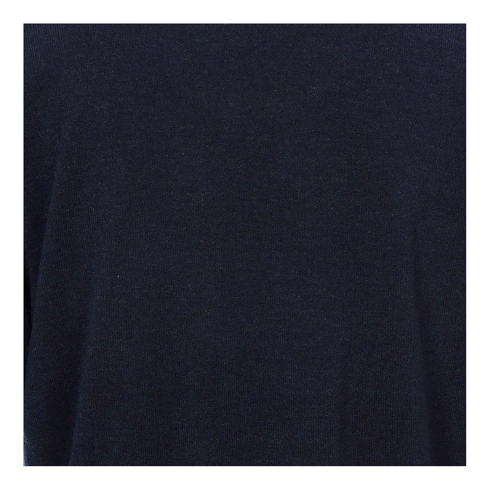 Jersey polo azul de Mixta Lana 4