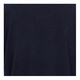 Jersey polo azul de Mixta Lana s2