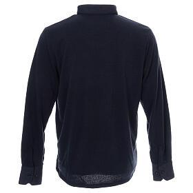 Jersey polo azul de Mixta Lana s3