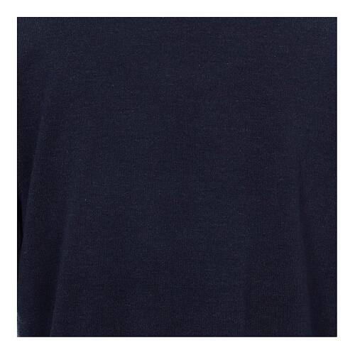 Jersey polo azul de Mixta Lana 2