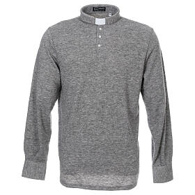 Polo clergy Gris Claro de Mixta Lana s1