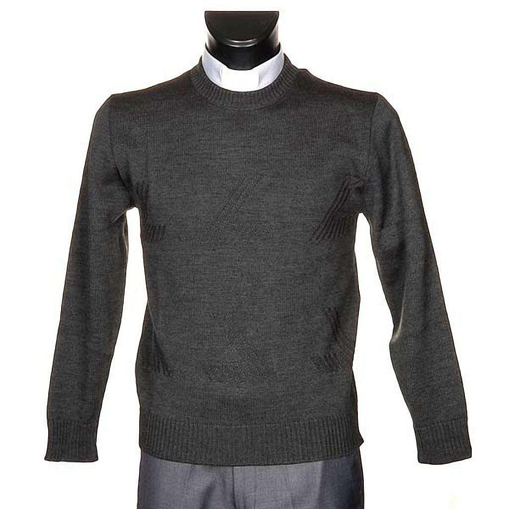 Rollkragen Pullover Wolle mit Bilder 4