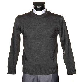 Woollen crew-neck pullover s1