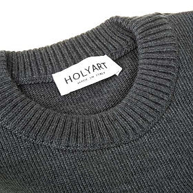 Woollen crew-neck pullover s4