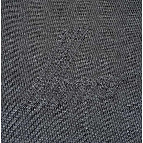 Jersey cuello redondo de lana con un motivo s3
