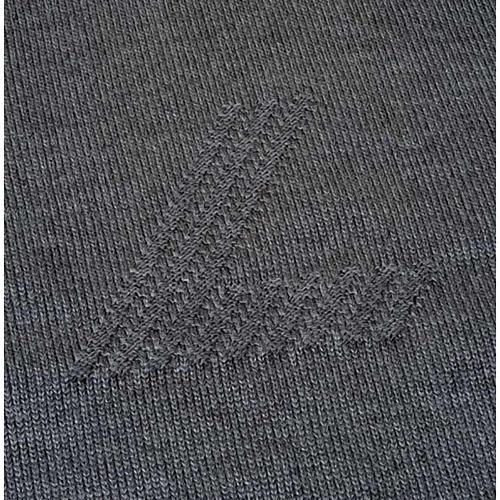 Jersey cuello redondo de lana con un motivo 3
