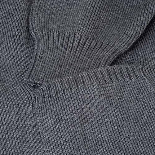 STOCK Polo-neck dark grey jacket 3
