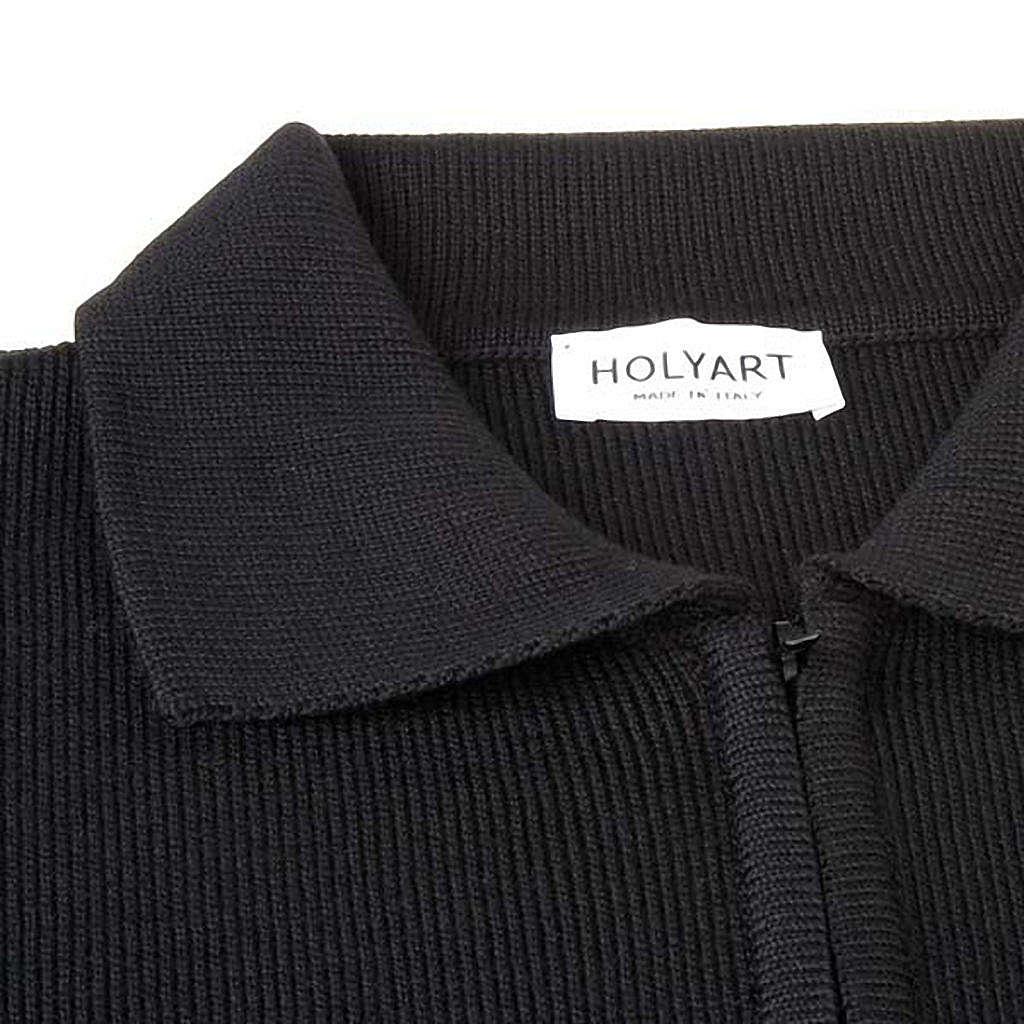 Polo-neck black jacket 4