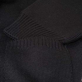 Polo-neck black jacket s3