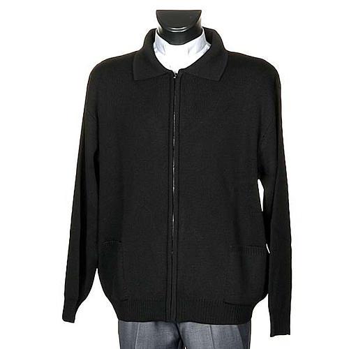 Polo-neck black jacket 1