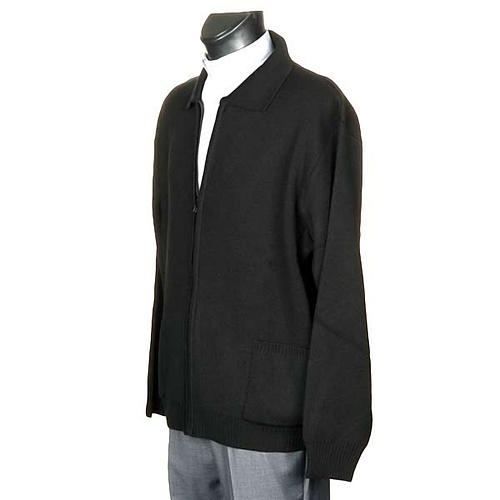 Polo-neck black jacket 2