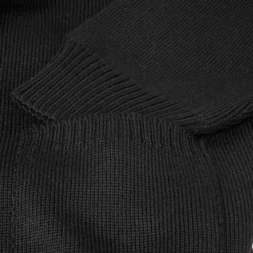 Polo-neck black jacket 3
