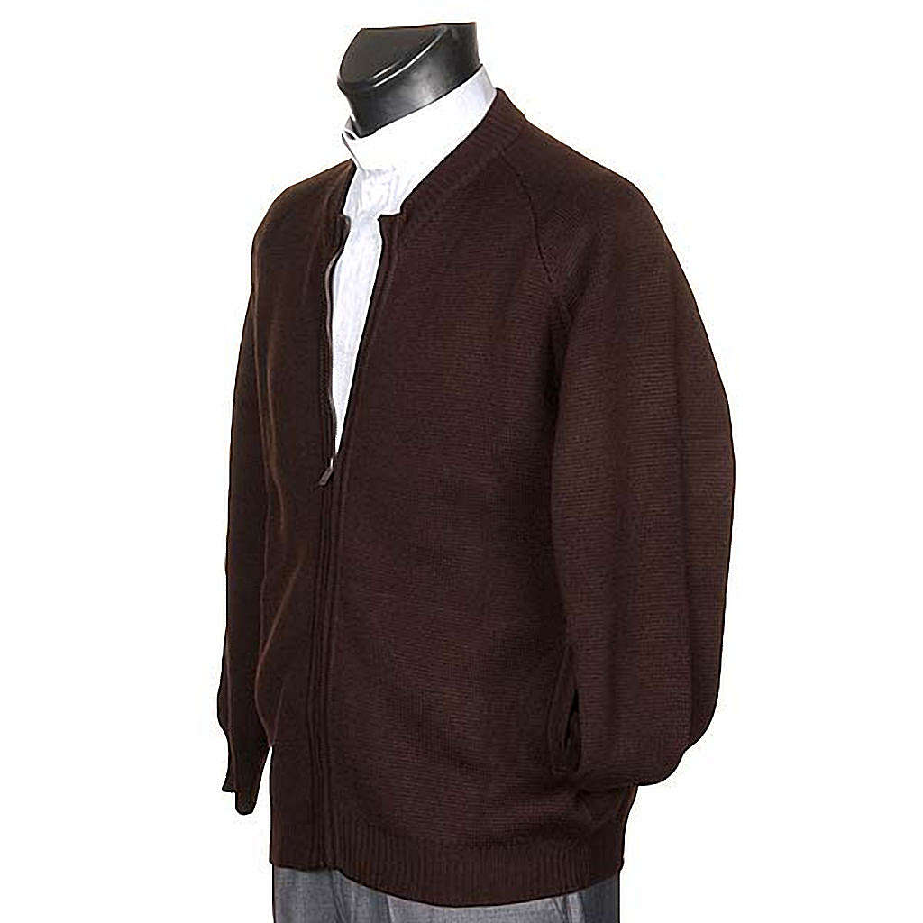 Habit jacket with zip and pockets 4
