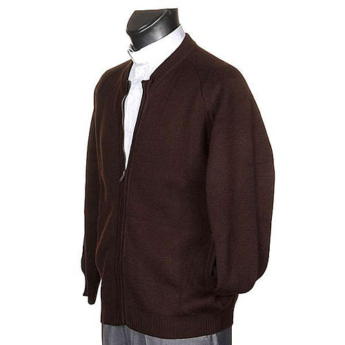 Habit jacket with zip and pockets 2