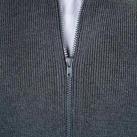 Chaqueta con cuello alto gris oscuro s2