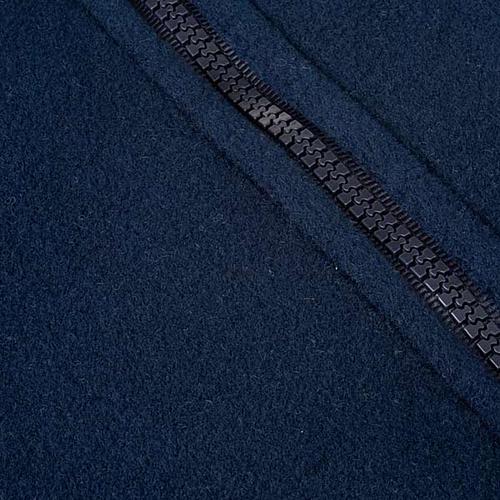 Pile blu con cerniera e tasche 3