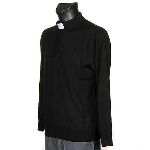 Polo clergy nera 2