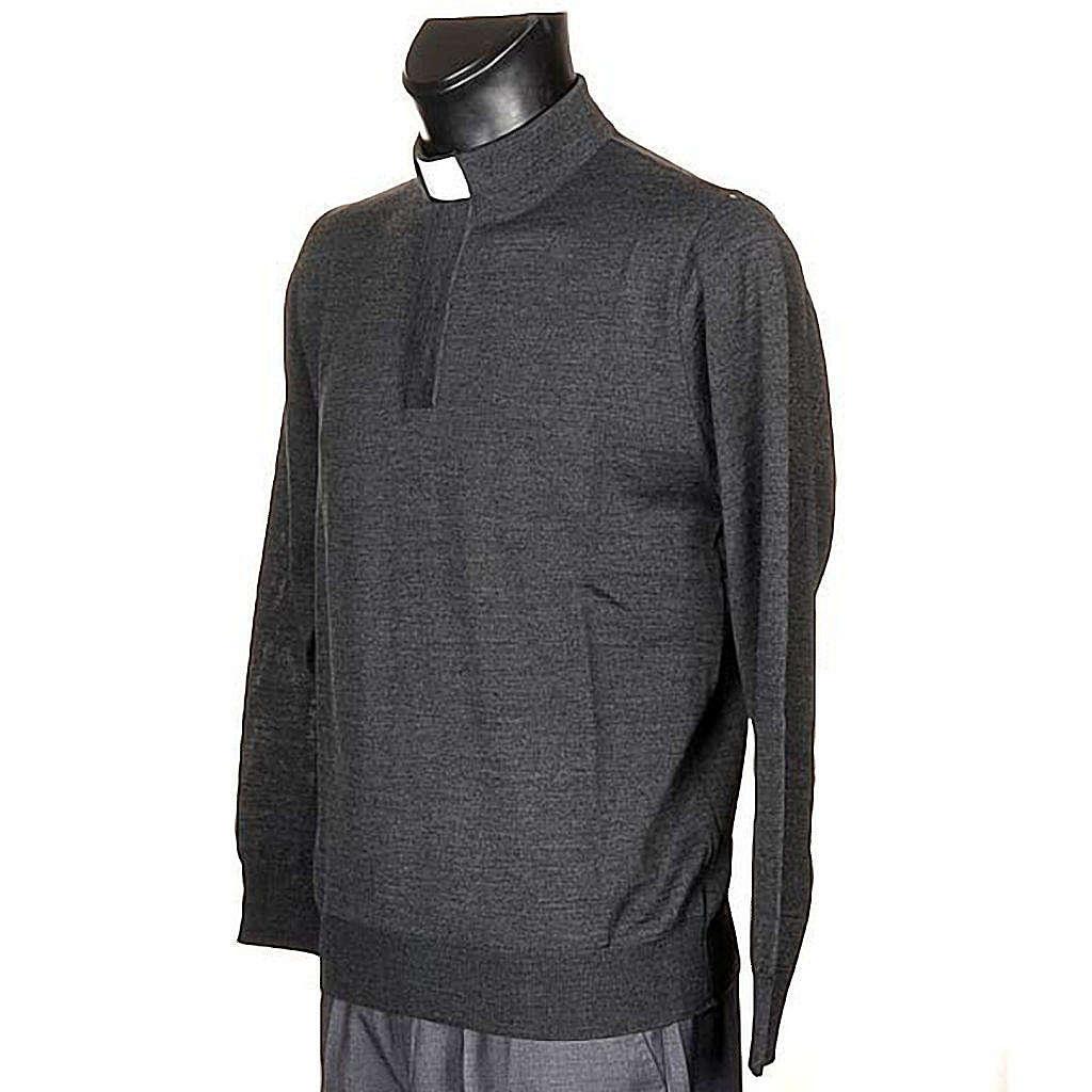 Clergyman dark grey polo-shirt 4