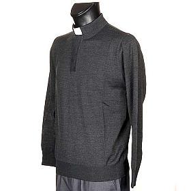 Clergyman dark grey polo-shirt s2