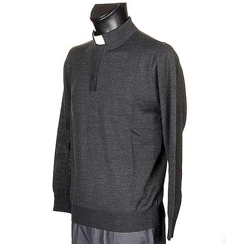 Clergyman dark grey polo-shirt 2