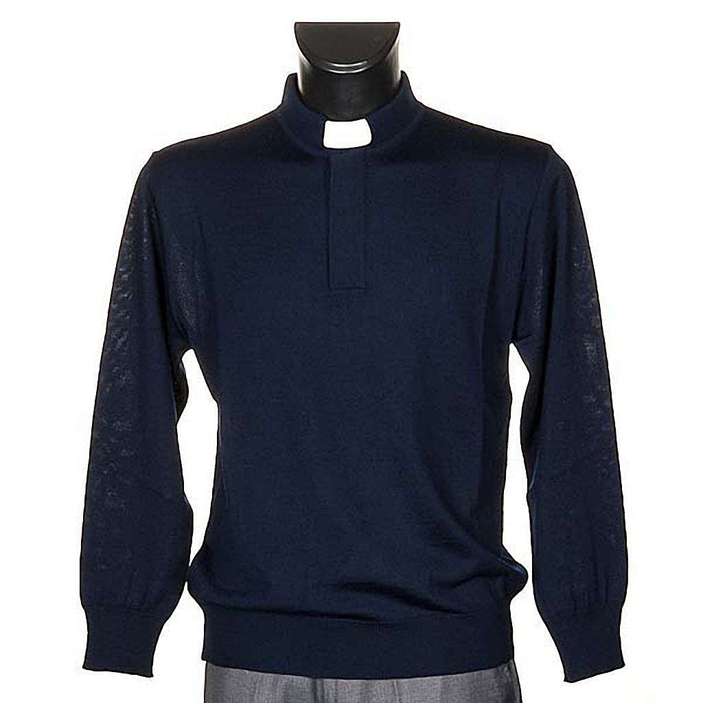 Polo Clergy Azul 4