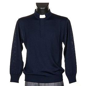 Polo clergy blu s1