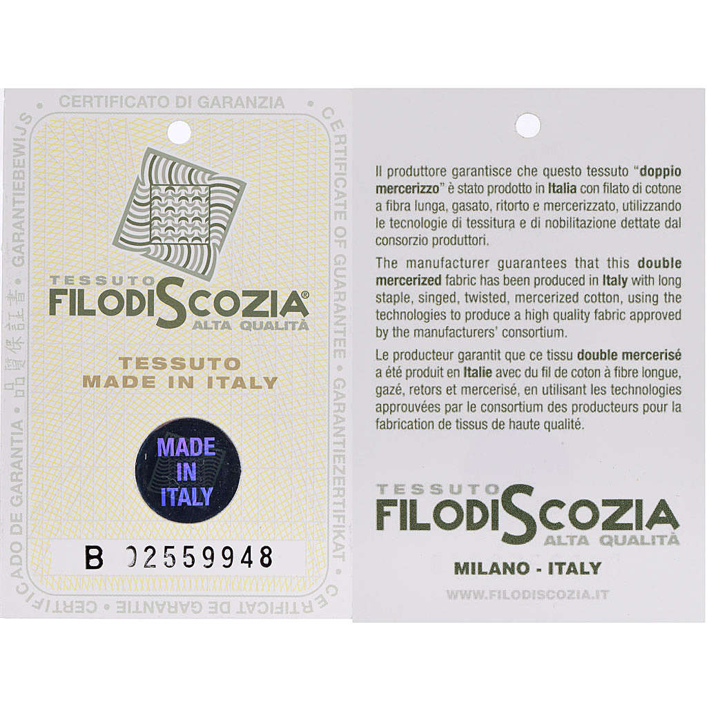 Polo colletto civile nero filo di Scozia 4