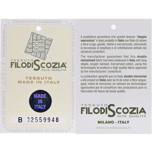 STOCK Polo colletto civile grigio chiaro filo di Scozia 6