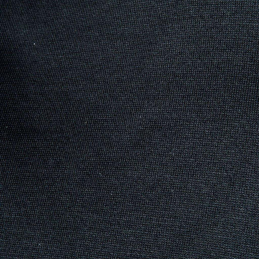 Polo manica corta  filo di Scozia nero 4