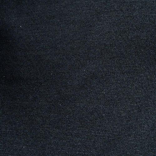 Polo manica corta  filo di Scozia nero 2