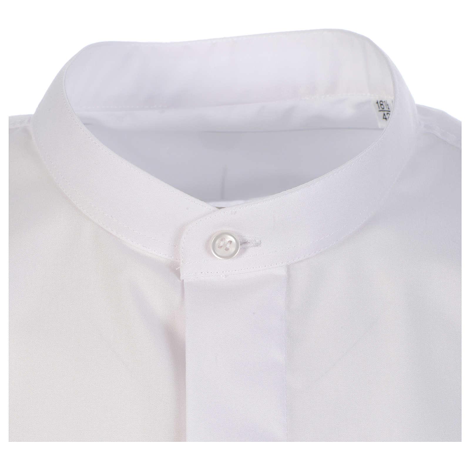 Collarhemd geeignet um unter dem Talar getragen zu werden mit verdecktem Kragen Langarm 4