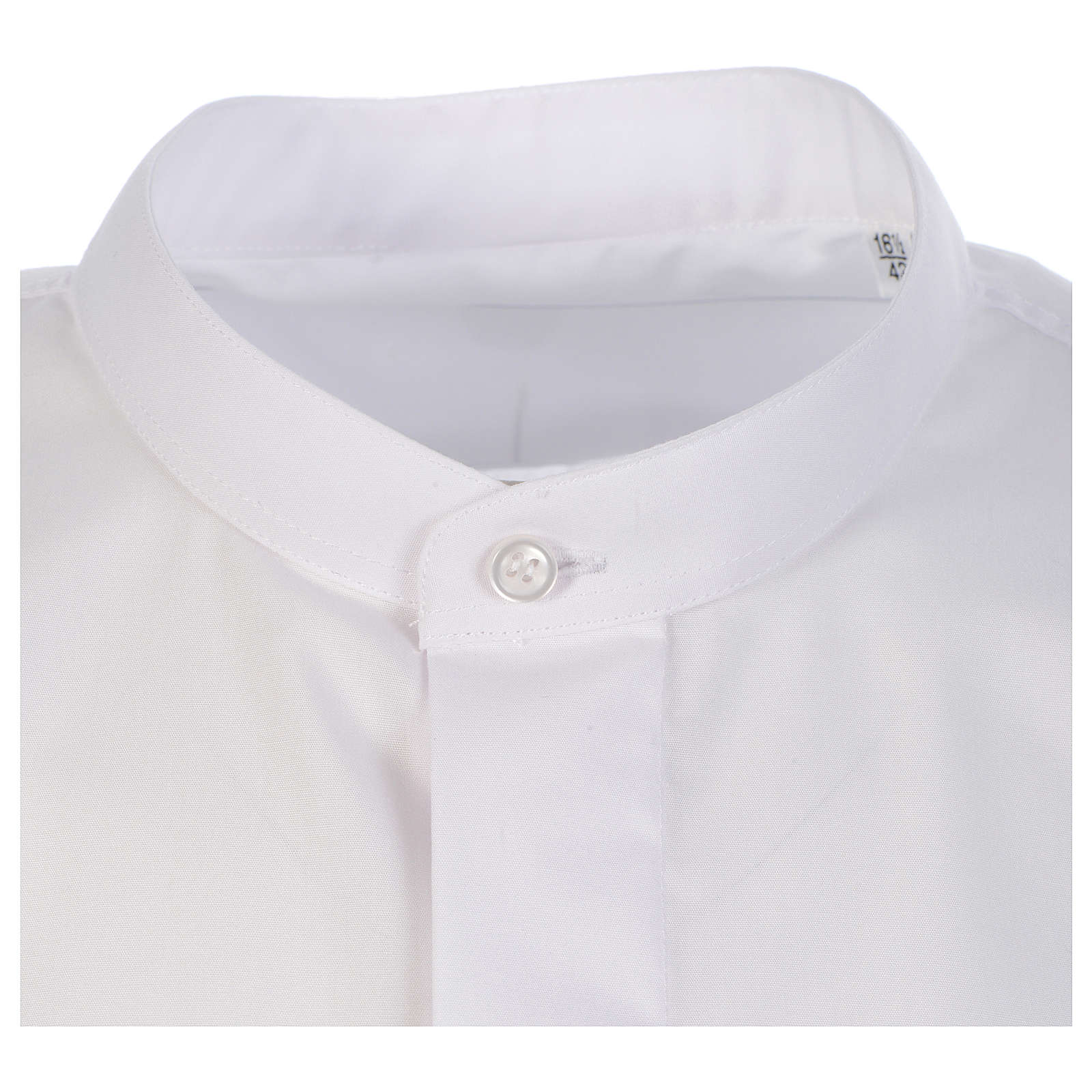 Camicia sottotalare collo ricoperto manica lunga 4