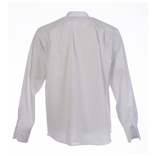 Camicia sottotalare collo ricoperto manica lunga 2