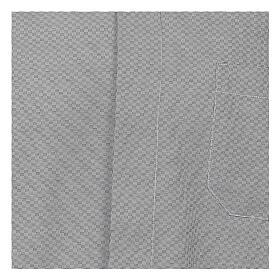 Camisa clergy algodón Marangel gris M. Larga s2