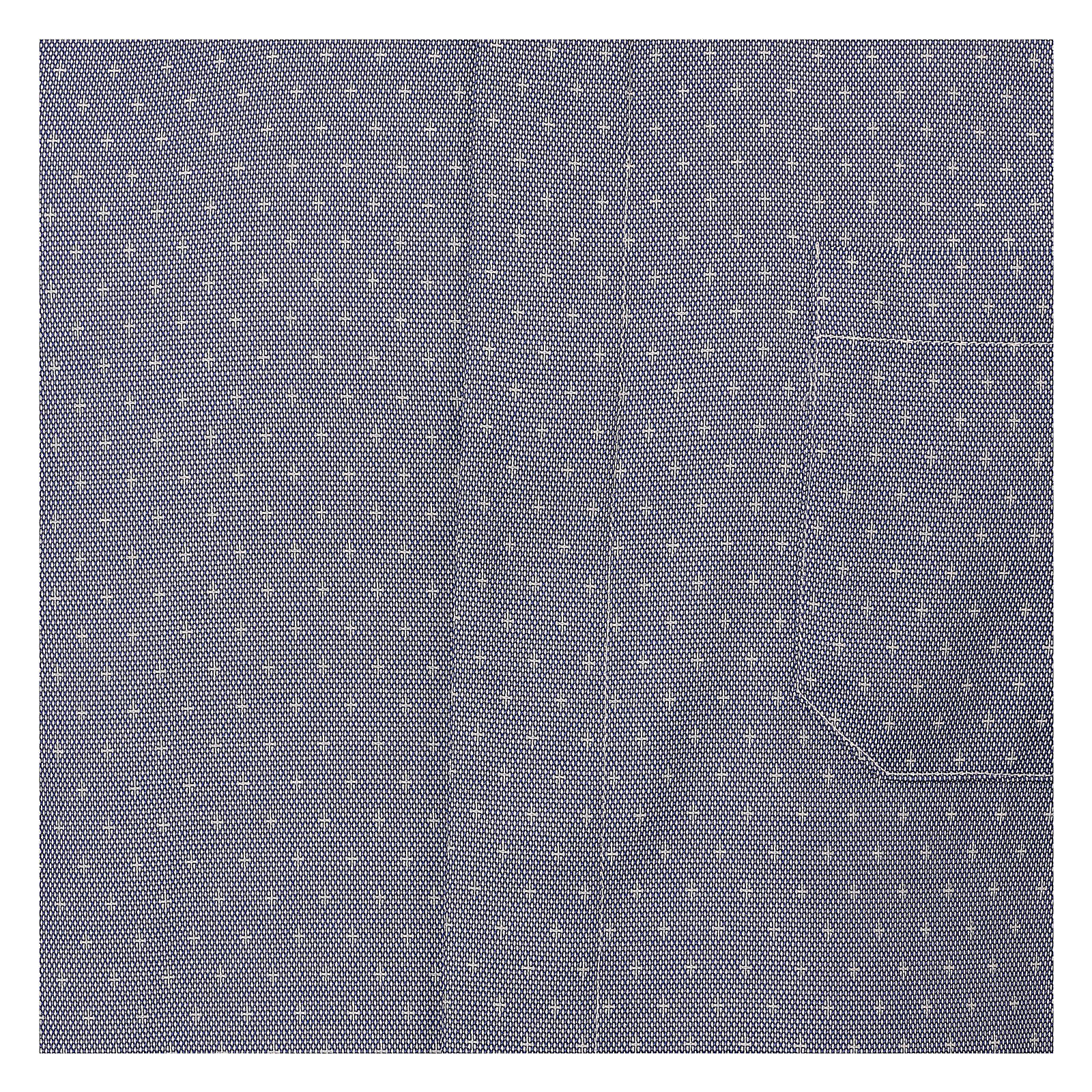 Koszula kapłańska tkanina wzór krzyży, niebieska, Długi Rękaw 4