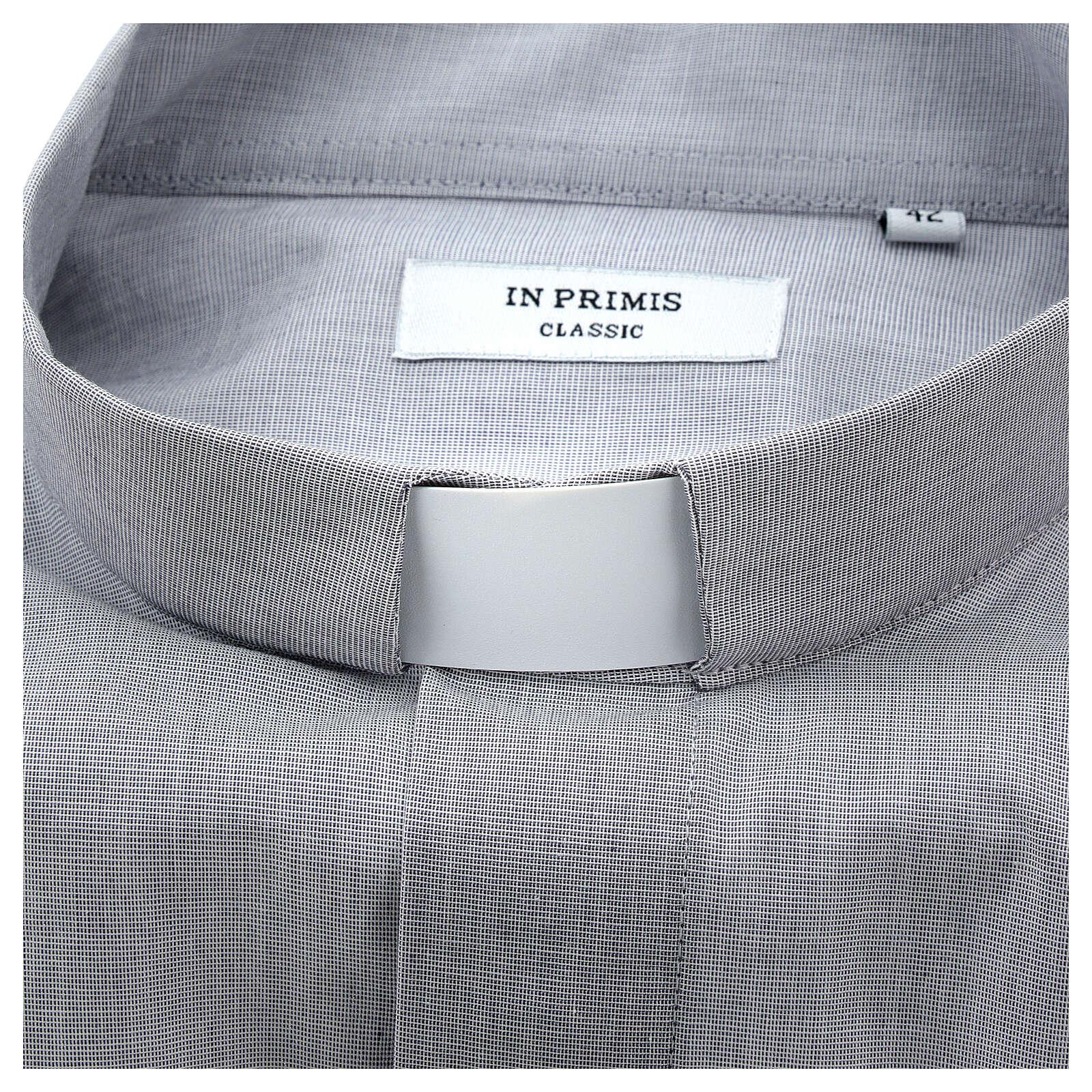 Collarino clergy ecclesiastico per camicie e polo 3 cm 4