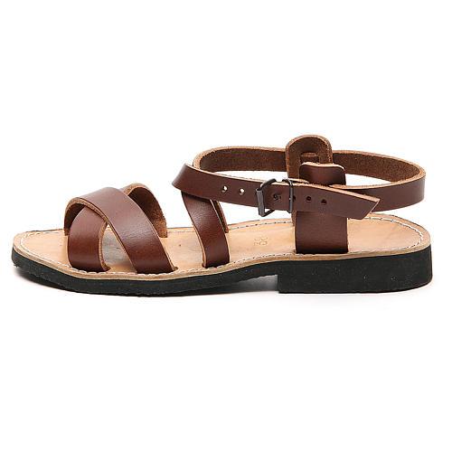 Sandales franciscaines mod. Sinaia cuir Moines de Bethléem 1