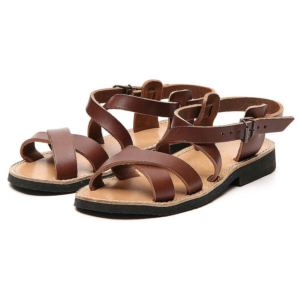 Franciscan Sandals in leather, model Sinaia 4