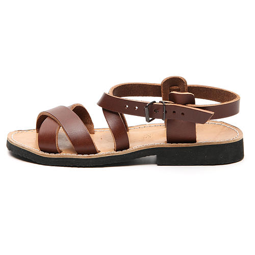 Franciscan Sandals in leather, model Sinaia 8