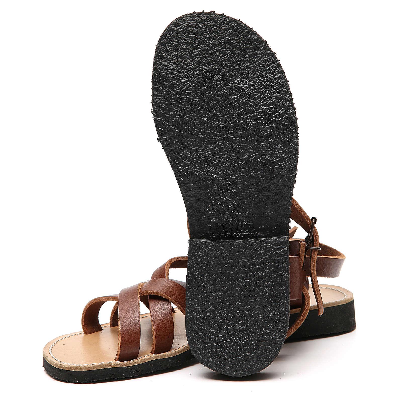 Franciscan Sandals in leather, model Samara 4