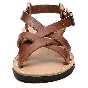 Franciscan Sandals in leather, model Samara s4