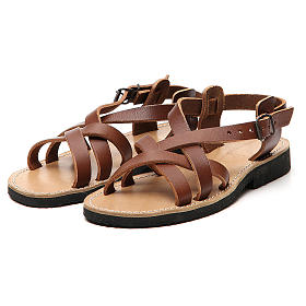 Franciscan Sandals in leather, model Samara s5