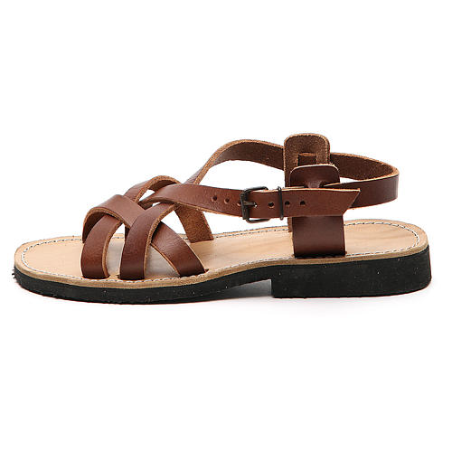 Franciscan Sandals in leather, model Samara 1