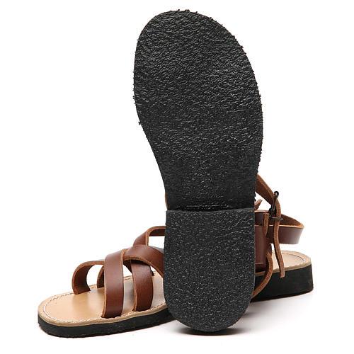 Sandales franciscaines mod. Samara cuir Moines de Bethléem