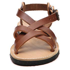 Sandały franciszkańskie dwoina model Samara Mnisi Bethleem s10