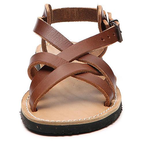 Sandały franciszkańskie dwoina model Samara Mnisi Bethleem 4