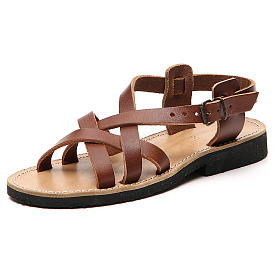 Franciscan Sandals in leather, model Samara s2