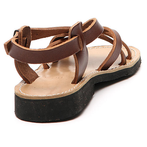 Franciscan Sandals in leather, model Samara 9