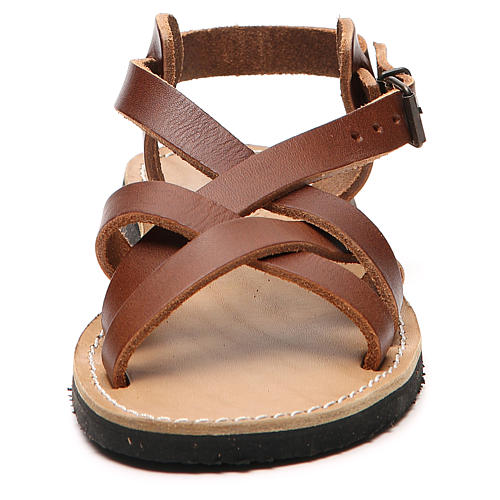 Franciscan Sandals in leather, model Samara 10